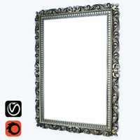 Frame for mirrors and paintings (vray + corona)