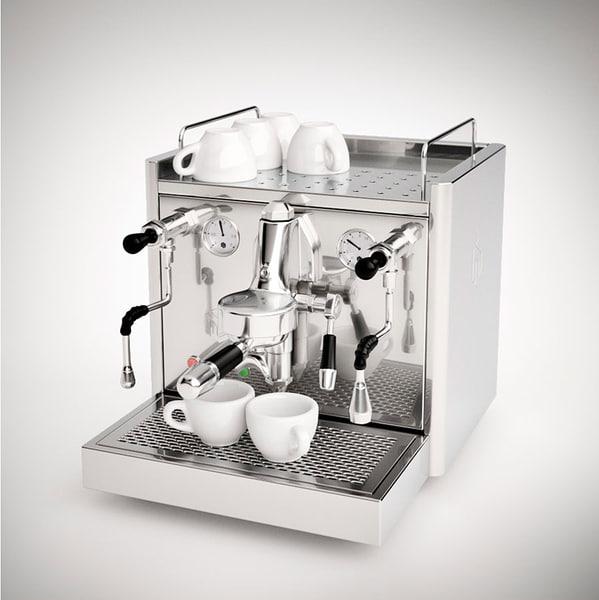 espresso maker 3d obj