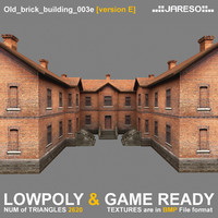 two-floor old brick building games 3ds