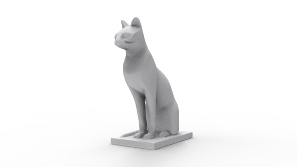 3d model of scan sculpture