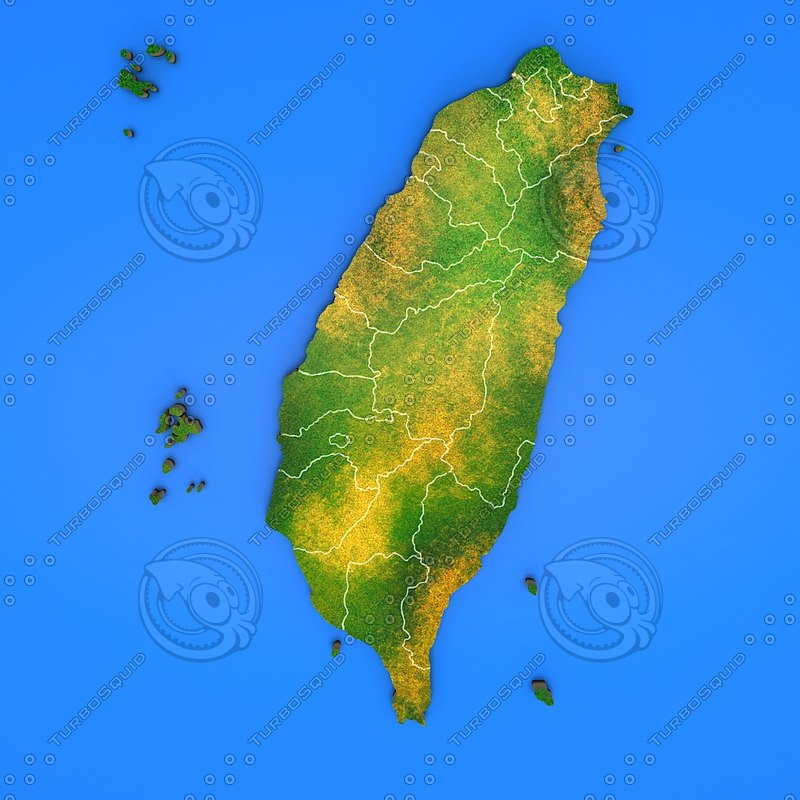 3d taiwan country