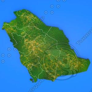 3d saudi arabia country