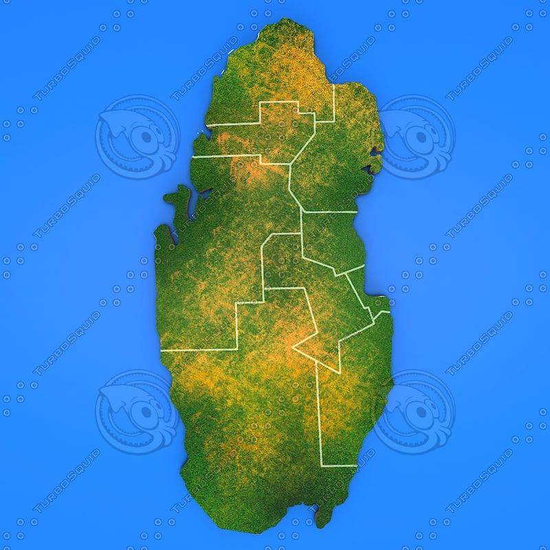 3d qatar country