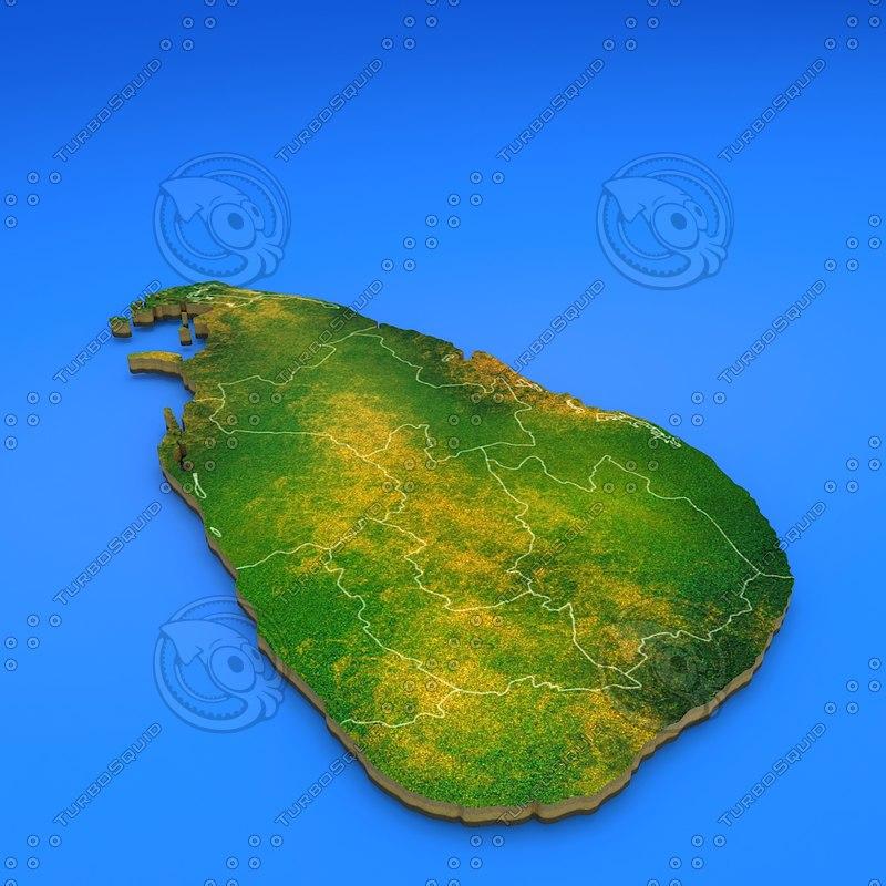 3d max srilanka country