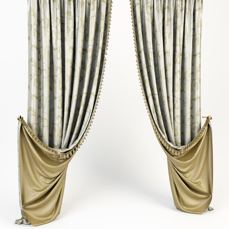 3d curtains classic model