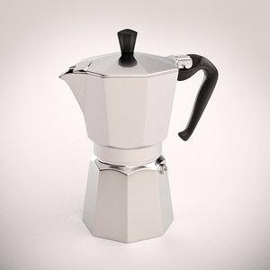 3d bialetti espresso maker model