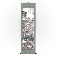 chinese hanging scroll brush max