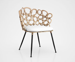 3d ella occasional chair model