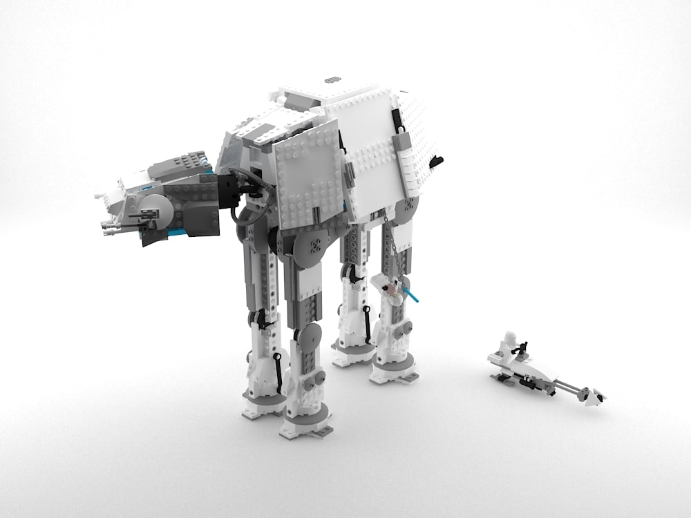 obj lego imperial at-at