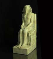 Pharaoh Khafre statue