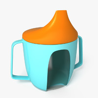 sippy cup 3d max