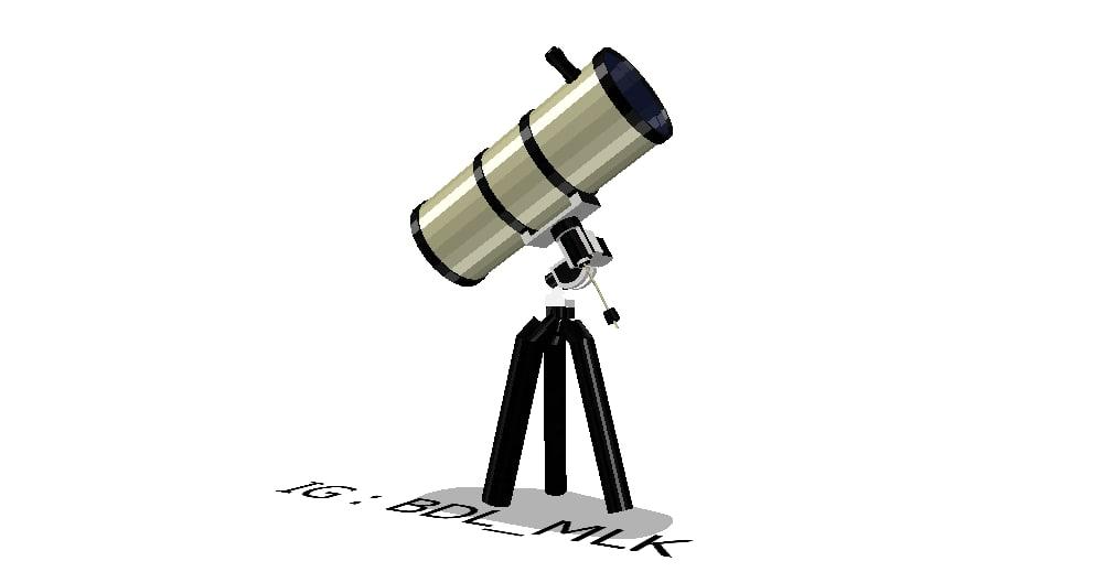 free obj mode telescope