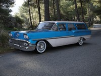 3d model chevrolet brookwood 1958