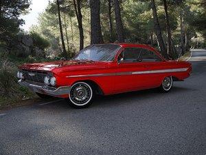 chevrolet impala 1961 3d 3ds