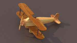 wooden toy plane max