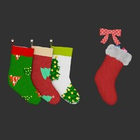 3d christmas sock