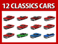 Collection 12 Classics cars Chevrolet