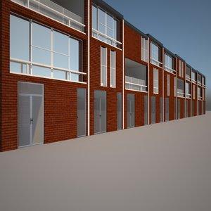 3d pack houses amsterdam