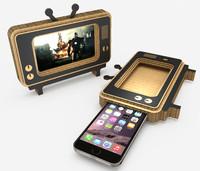 phone tv 3d model