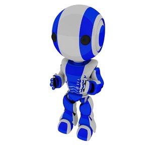 robot machine 3d c4d