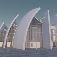 3d jubilee church model