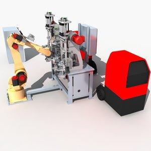 max robot automatic production line