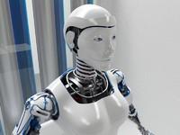 Robot woman D2016