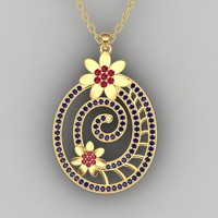 3d pendent