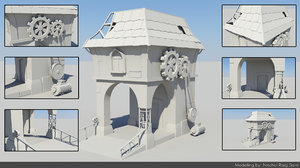 3d model lambart environment