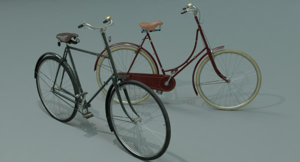 3d ma vintage bicycles
