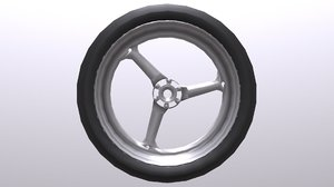 bike wheel 3d 3ds
