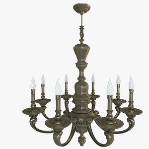 chandelier possoni 3d x