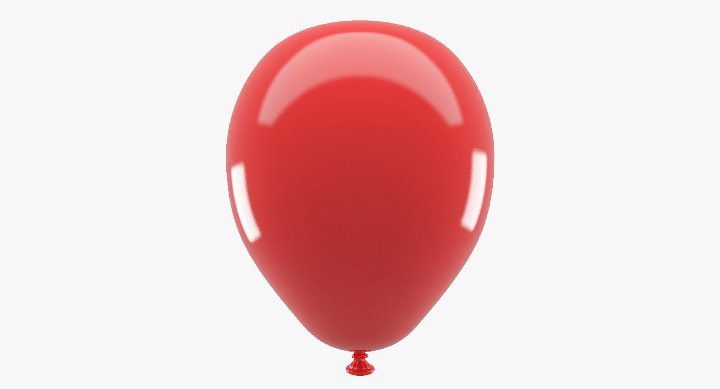 3d inflated balloon model