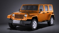 Jeep Wrangler Unlimited Sahara 2015 VRAY