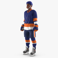 3d hockey player generic 5