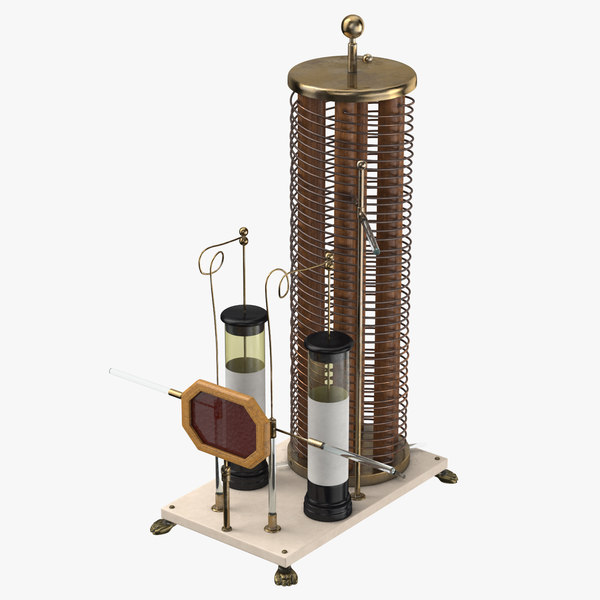 oudin resonator - 3d model