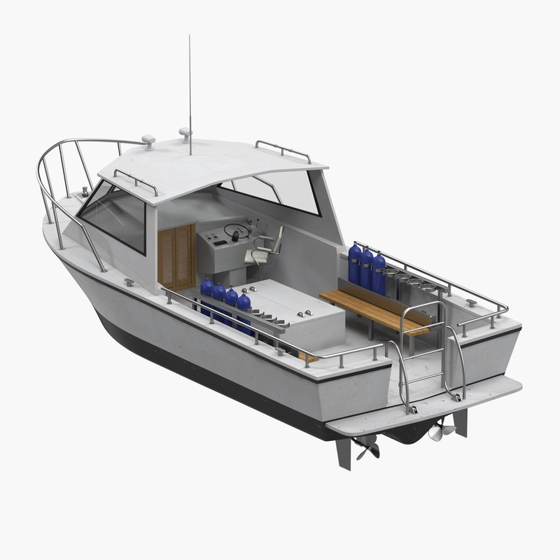 dive boat 3ds