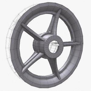 3d wheel 8 rim model