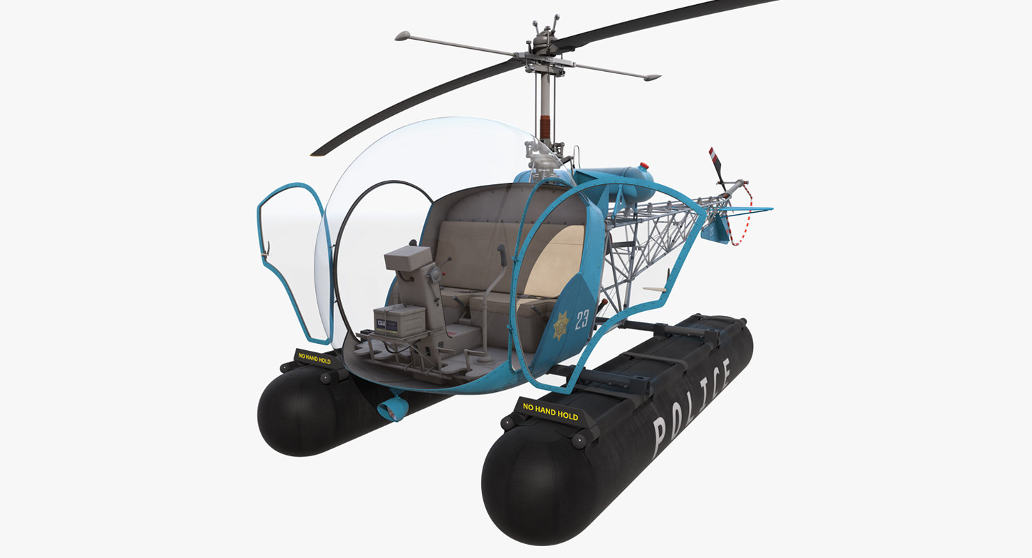 bell 47 floats police max