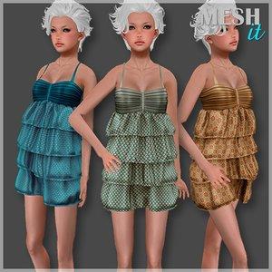 3ds summer dress