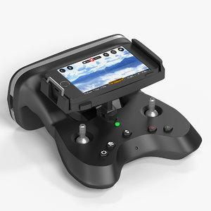 3d drone controller model
