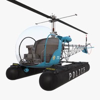 3ds bell 47 floats police