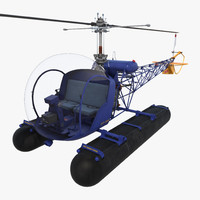 3d 3ds bell 47 floats