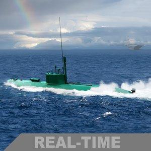 3d iranian ghadir class submarine model