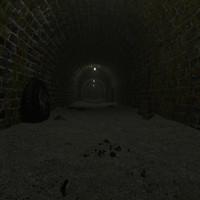 hallway tunnel 3d fbx