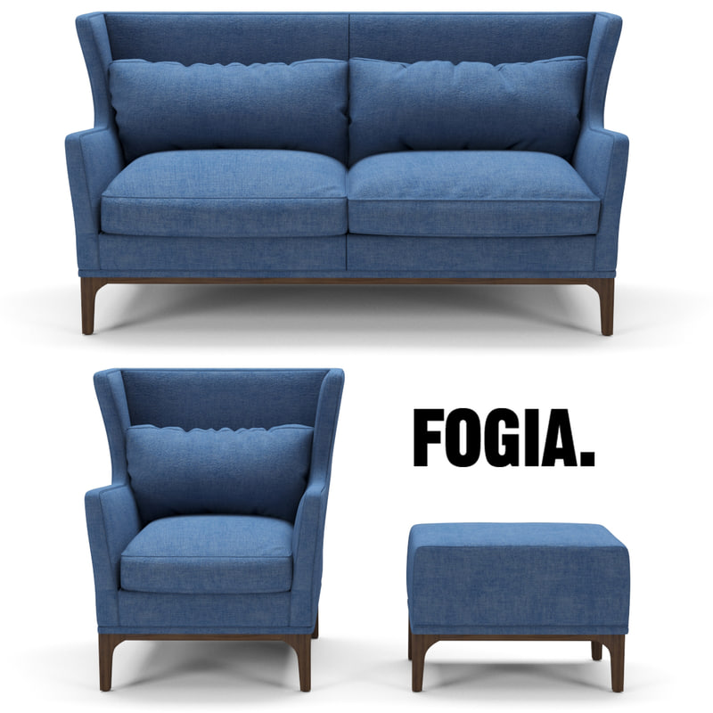 fogia wing 3d max