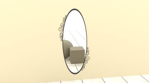 mirror 3d blend