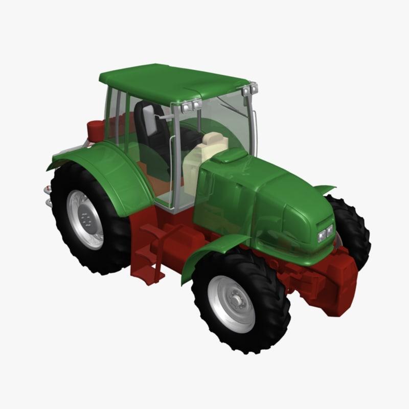 5m series tractor obj