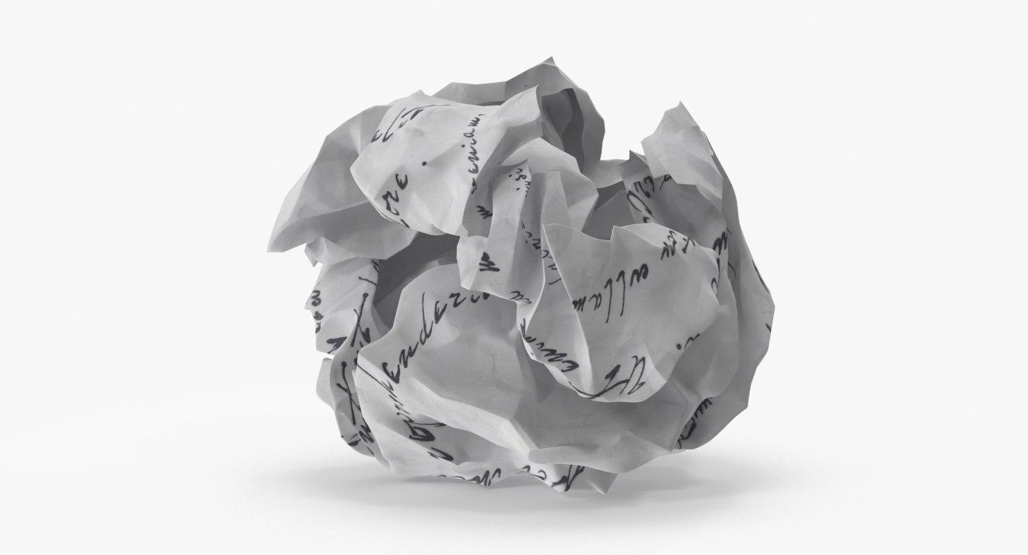 crumpled paper 01 max