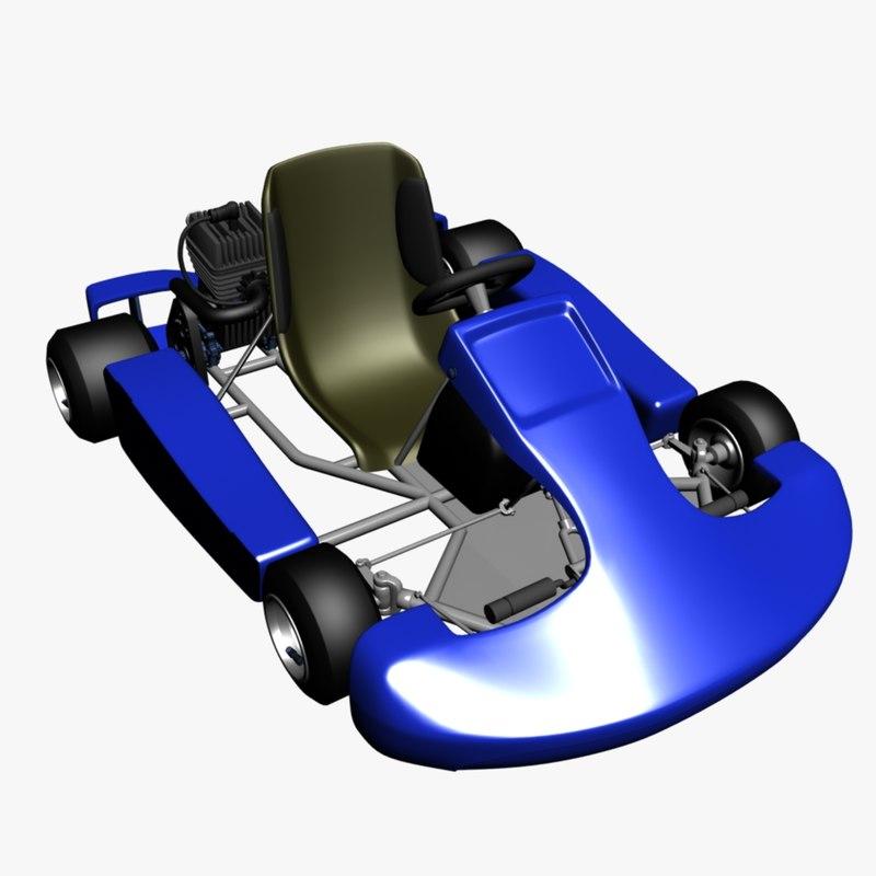 cart car 3d 3ds
